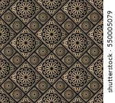 seamless pattern oriental... | Shutterstock .eps vector #550005079