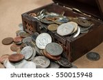 Dower Chest With Old Coins...