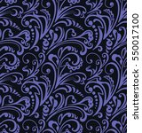 seamless pattern. vintage style ... | Shutterstock .eps vector #550017100