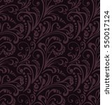 seamless pattern. vintage style ... | Shutterstock .eps vector #550017124