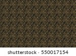 seamless pattern. vintage style ... | Shutterstock .eps vector #550017154