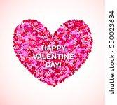 pink glitter valentine day