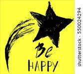 hand drawn star | Shutterstock .eps vector #550024294