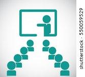 training icon | Shutterstock .eps vector #550059529