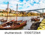 a view of boats transporting... | Shutterstock . vector #550072564