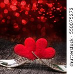 Valentine S Day  Forks  Heart