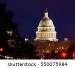 capitol dome detail on american | Shutterstock . vector #550075984
