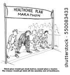 health cartoon showing lots of... | Shutterstock . vector #550083433