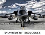 military aircraft  | Shutterstock . vector #550100566