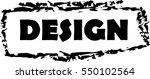 black frame with headline | Shutterstock .eps vector #550102564