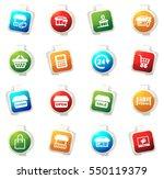 shop color icon for web sites...