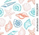 hand drawn vector illustrations ... | Shutterstock .eps vector #550128349