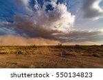 dust storm haboob | Shutterstock . vector #550134823