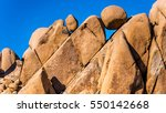 Rock Formation In Joshua Tree...