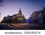 Madrid   January 6  Night View...