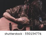 guitarist performing on stage...   Shutterstock . vector #550154776