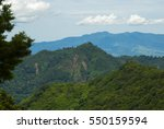 mountains panoramic views in... | Shutterstock . vector #550159594