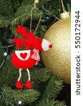 christmas toys  | Shutterstock . vector #550172944