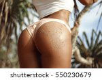 close up woman's body healthy... | Shutterstock . vector #550230679