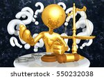 law legal concept with the...   Shutterstock . vector #550232038