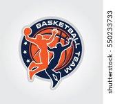 basketball team championship | Shutterstock .eps vector #550233733