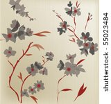 japanese  style pattern | Shutterstock .eps vector #55023484