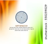 republic day vector  | Shutterstock .eps vector #550259029