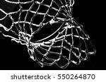Empty Swooshing Basketball Net...