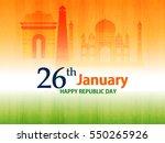 republic day  26 january .  | Shutterstock .eps vector #550265926