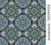 seamless vintage pattern | Shutterstock . vector #550299328