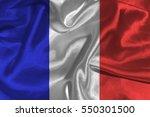 france national flag... | Shutterstock . vector #550301500