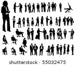business people | Shutterstock .eps vector #55032475