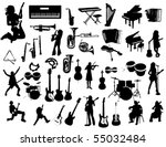 music instruments | Shutterstock .eps vector #55032484