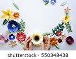 Flower Floral Paper Cut Outs...