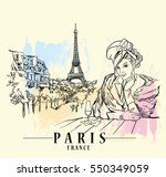 Paris Illustration. Vector...