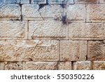 detailed front view of ancient... | Shutterstock . vector #550350226