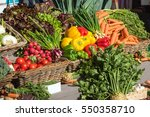 Fresh Colorful Vegetables For...