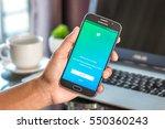 chiang mai thailand   january 7 ... | Shutterstock . vector #550360243