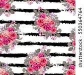 elegant seamless pattern with... | Shutterstock .eps vector #550364764
