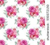 elegant seamless pattern with... | Shutterstock .eps vector #550372150
