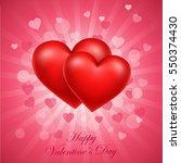 valentine's day  valentine's... | Shutterstock . vector #550374430