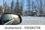 Frozen Sunset Auto Mirror