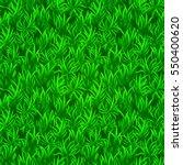 green grass seamless texture.... | Shutterstock .eps vector #550400620