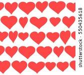 background to valentine's day... | Shutterstock . vector #550435618
