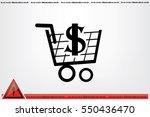 cart icon vector illustration... | Shutterstock .eps vector #550436470