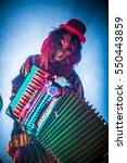 Venetian Masquerade Accordion...