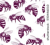 vector seamless pattern with... | Shutterstock .eps vector #550446010