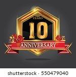 10 years anniversary shiny...