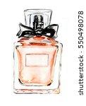 Orange Glass Bottle Fragrance...