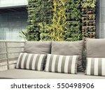 beautiful vertical garden with...
